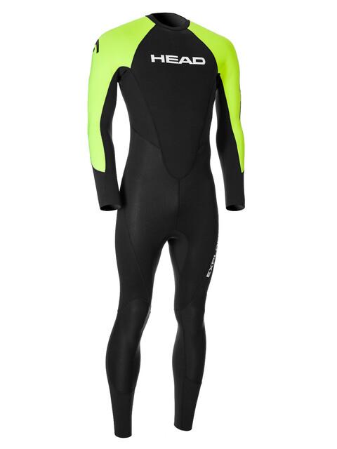 Head Expl**** 3.2.2 Wetsuit Men Black/Lime